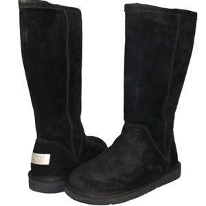 UGG Kenly Zip Up Boots Black